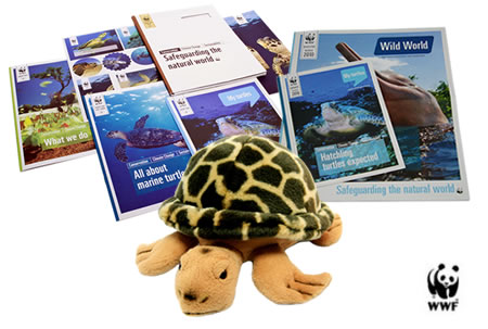 WWF Hawksbill Turtle Gift Pack