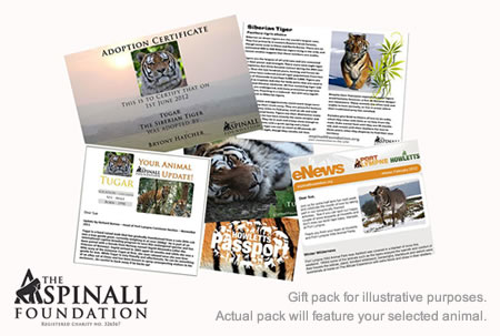 Aspinall Foundation Adopt an Animal Gift Pack