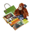 Adopt an orang-utan gift pack