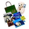 Adopt a polar bear gift pack