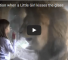 Check Out What Happens When A Little Girl Blows Lion A Kiss