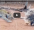 Check Out This Video Of A Leopard Trying To Attack A Porcupine